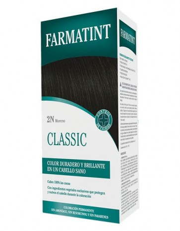 Farmatint 2N Moreno 130 ML - Coloración Permanente Sin Amoniaco