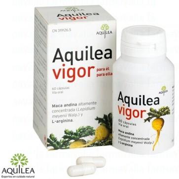 Aquilea Vigor 60 Cápsulas - maca andina, l-arginina