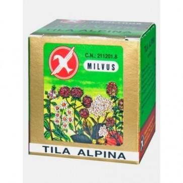 Milvus Tila Alpina 10 Filtros - Infusión Relajante