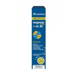 Arkovital Magnesio 375 mg 21 Comprimidos Efervescentes