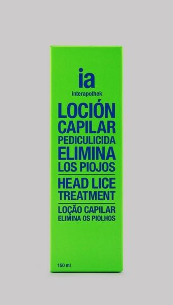Loción Capilar 150 ml Antipiojos y Antiliendres de Interapothek - Para Personas Adultas y Niños Mayores de 2 Años