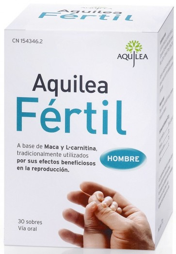 Aquilea Fértil 30 sobres - Fertilidad y Reproducción
