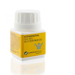 Vita Mineral 60 Comprimidos de BotanicaPharma - Aporta la cantidad diaria recomendada de Vitaminas y Minerales
