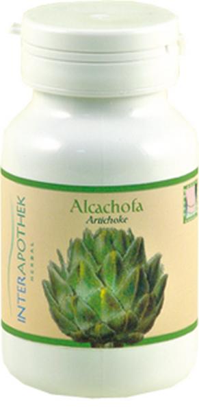 Alcachofa 80 Cápsulas de 450 mg de Interapothek - Diurético de Origen Natural - Reduce los Niveles de Grasas Colesterol y Azúcar en Sangre