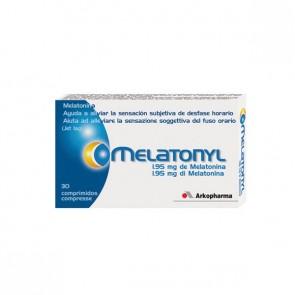 Melatonyl 30 comp. - Melatonina 1,95 mg para el jet lag, trastornos del sueño