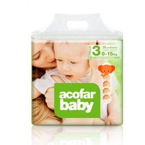 Acofarbaby Pañal Infantil T.3 9-15 Kg 32 Ud