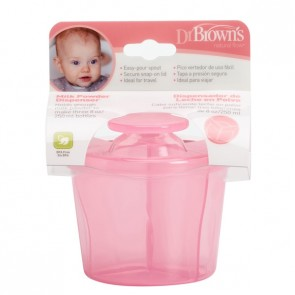 Dispensador Leche Polvo Dr. Brown - Capacidad para 3 Biberones de 250 ml