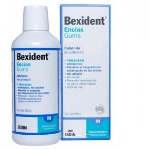 Bexident Encías Colutorio Triclosan 0.15%  500 ml - Antiplaca, Tratamiento contra la Gingivitis, Protección de Encías