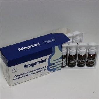 Rotagermine 8,5 ML 10 Frascos - Complemento Alimenticio con Fermentos Lácticos Vivos y Prebióticos.