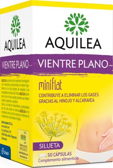 Aquilea Vientre Plano 50 cápsulas - Complemento Alimenticio Eliminación Gases