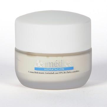 Dermédica Crema Hidratante SPF 20 50 ml - Hidratación Diaria Pieles Sensibles, Combate Envejecimiento Prematuro