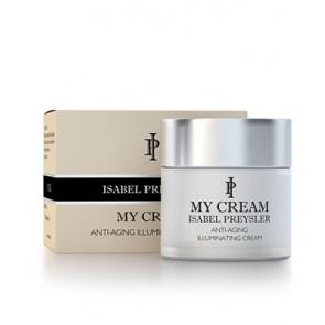 My Cream Isabel Preysler Anti-edad 60 ML - Crema con Efecto Luminosidad, Rehidratante, Todo Tipo de Pieles