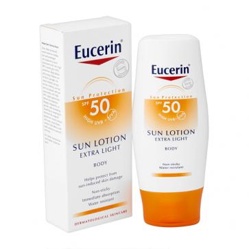 Eucerin Sun Loción Solar Extra Light FPS 50 150 ml - Protección Solar