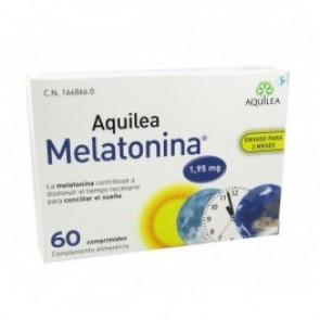 Aquilea Melatonina 1,95 mg 60 comiprimidos - alteración sueño, vitamina B6, melatonin