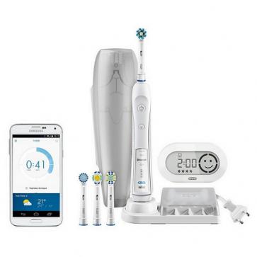 Oral-B Braun Cross Action Pro 6000 Cepillo Eléctrico - Placa Dental