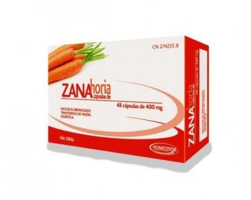Homeosor Zanahoria 400 mg 48 Cápsulas - Falta de Apetito, Gastritis, Trastornos de Visión
