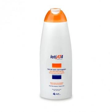 Leti At4 Gel De Baño Dermograso 750 ml -Gel de Baño pieles Atópicas, Secas y Sensibles