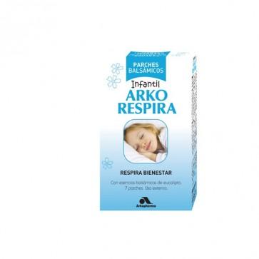 Arko Respira Parches balsámicos eucalipto 7 unidades