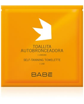 Babe Toallita Autobronceadora 1 Ud - Toallita Autobronceadora