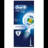 Oral-B Braun Pro 600 White & Clean Cepillo Eléctrico - Blanqueador, Limpieza