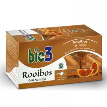 Bie3 Té Rooibos con Naranja - antioxidante, antiedad, antienvejecimiento, digestivo y relajante