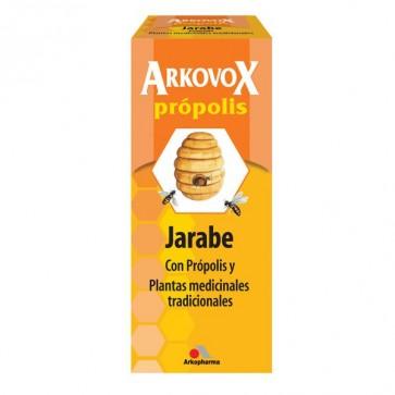 Arkovox Jarabe con Própolis y Plantas medicinales tradicionales - resfriado, tos, garganta