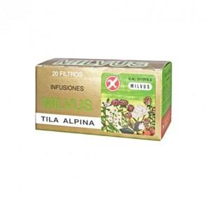 Milvus Tila Alpina 20 Filtros - Infusión Relajante