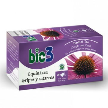 Bie3 Té Echinacea Gripes y Catarros – cansancio, defensas