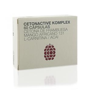 Cetonactive Komplex 60 Cápsulas Botanicapharma - Quemagrasa, Acelerar el metabolismo y Saciante