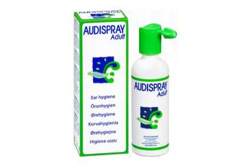 Audispray Adult Higiene del Oído 50 ml - Agua de Mar, Cerumen