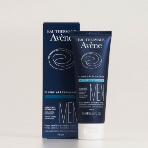 Avène Fluido para Después del Afeitado 75 ml - Alivia Irritaciones, Antibacteriano