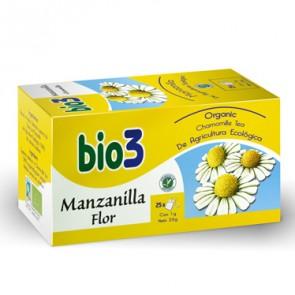 Bio3 Manzanilla Flor Ecológica - indigestión, digestión y gases
