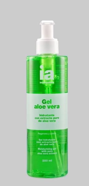 Gel Aloe Vera Puro 250 ml de Interapothek -  Regenera y Calma las Pieles Secas y Sensibles