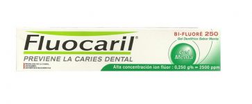 Gel Dentífrico Fluocaril Bi-Fluoré 250 Menta 75 ml - Limpieza Dental