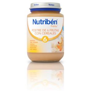 Comprar Nutriben Junior Postre Frutas Con Cereales 200 Gr