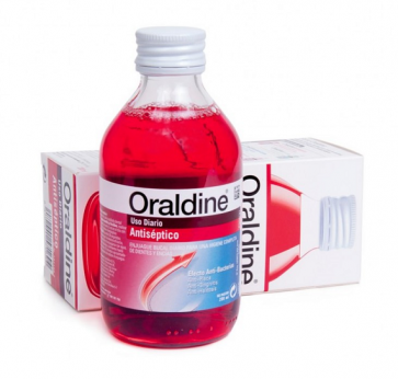 Oraldine Colutorio Antiséptico 200 ml - Enjuague Bucal