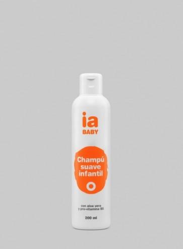 Champú Infantil 200 ml de Interapothek - Con Aloe Vera y Pro-vitamina B5 Higiene Diaria para Todo Tipo de Cabello