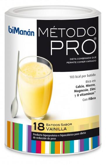 Bimanán Pro Batido Eco Vainilla - Alimento Dietético, Bajo en Calorías, Complemento de Dietas