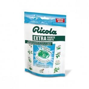 Ricola Caramelos Extra Fuerte Menta Glacial - Proporciona Frescura Extrema al Respirar