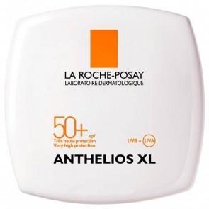 Anthelios XL Compacto SPF 50+ Sand Beige 9 gr - Maquillaje Compacto con Protección Solar Alta