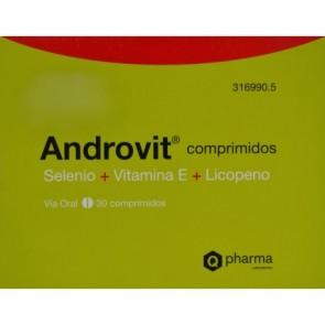 Androvit 30 Comprimidos - Complemento Alimenticio Antioxidante para Hombres Mayores de 45