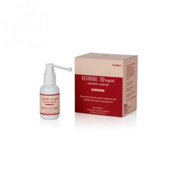 Regaxidil (50 Mg/Ml Solucion Cutanea 4 Frascos 60 Ml )