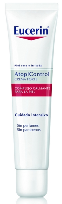 Eucerin Atopicontrol Crema Forte Complejo Calmante 40 ml - Piel Atópica, Omega 6