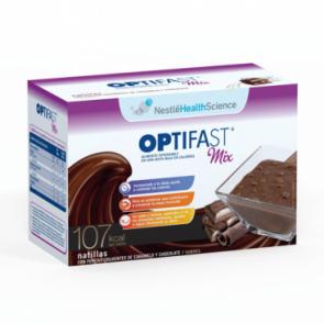 Optifast Mix Natillas con Pepitas Crujientes de Caramelo y Chocolate 7 sobres