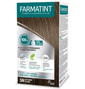 Farmatint Colour Cream 5N Castaño Claro 155 ml
