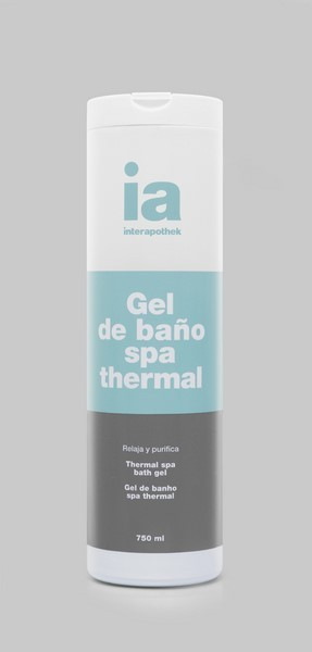 Gel de Baño Interapothek 750 ml Spa Thermal - Relaja y Purifica Tu Piel