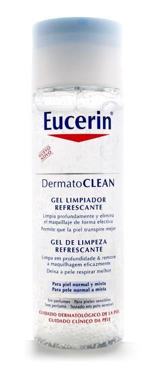 Eucerin DermatoCLEAN Gel Limpiador Refrescante 200 ml - Desmaquillante
