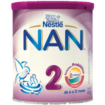 Nestlé Nan Expert 2 800 gr - Leche Continuacion
