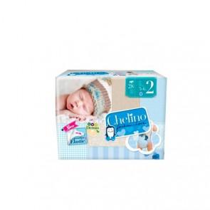 Pañales Chelino Infantil Fashion & Love Talla 2 de 3 a 6 Kg 28 Unidades - Pañales Recién Nacido