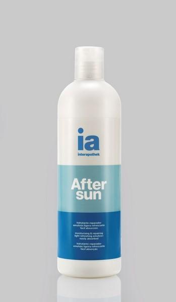 After Sun 100 ml de Interapothek - Alivia Refresca Hidrata y Regenera la Piel Dañada por la Radiación Solar